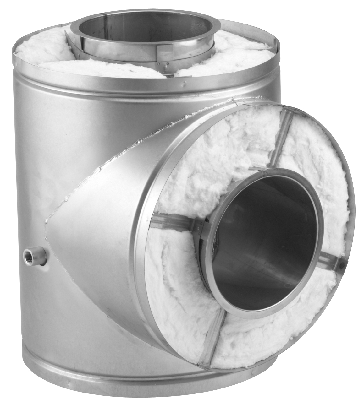 Nts Nozzle Tee Section Ampco