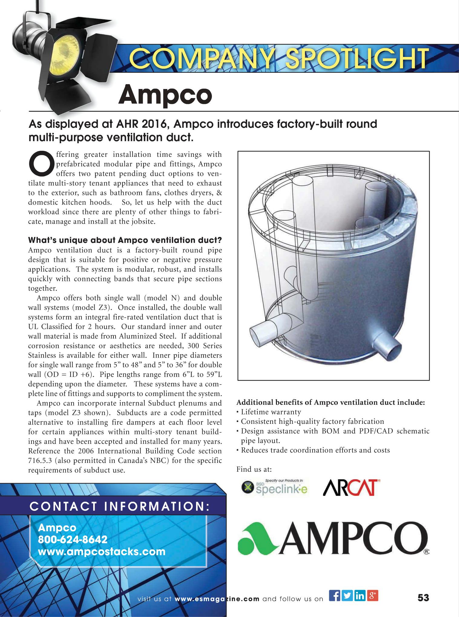 AMPCO - ES Spotlight