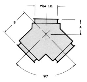 JY - 90° WYE-Dimensional