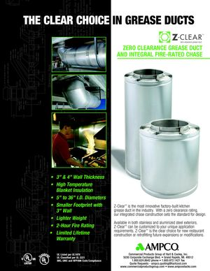 z - Cover Image: Z-Clear Brochure
